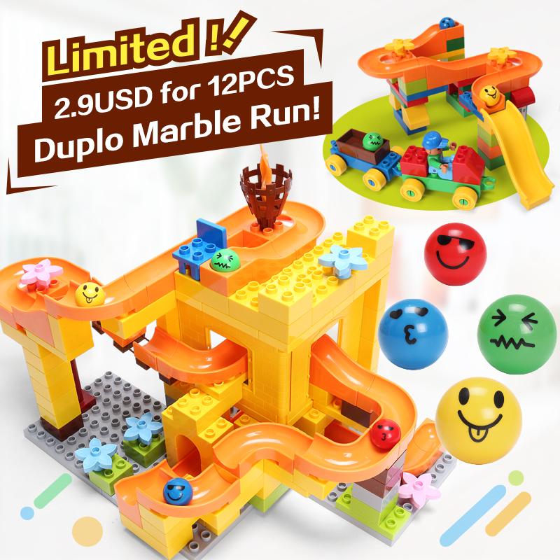 2 9 USD для 12 шт FUNLOCK Legoe Блок Город Duplo Модель Строительные Сборка Частей Игрушки