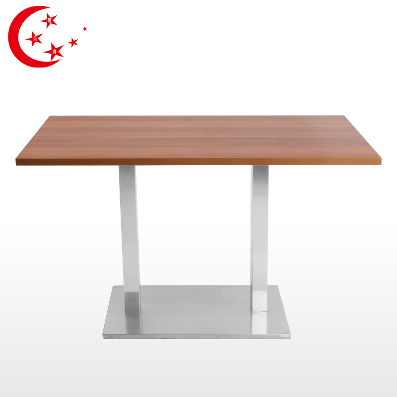 Small dining table stainless steel dining table hotel for Small dining table for 6
