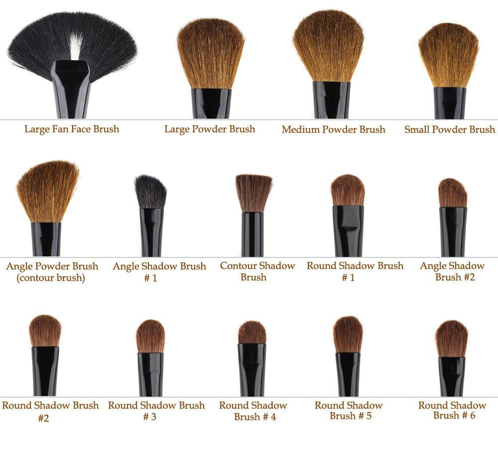 1x 32Pcs Makeup Brush Set Kit. 1x Case. M980 m980