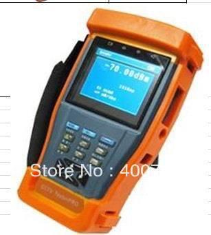 """ET-896     3.5""""TFT-LCD Optical power meter cctv tester"""