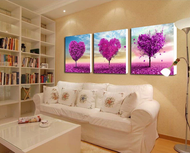 Heart-Shaped Tree Embroidery Pastoral Style Diamond Painting diy Diamond Painting Diamond Embroidery Painting PKA4-2(China (Mainland))