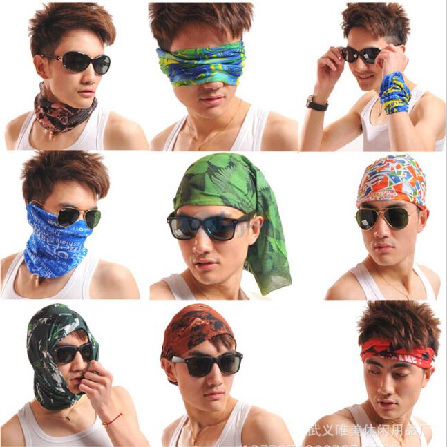 sun protection cycling mask bandana bike magic women men headband head scarf women female set neckerchief kerchief neck scarves(China (Mainland))