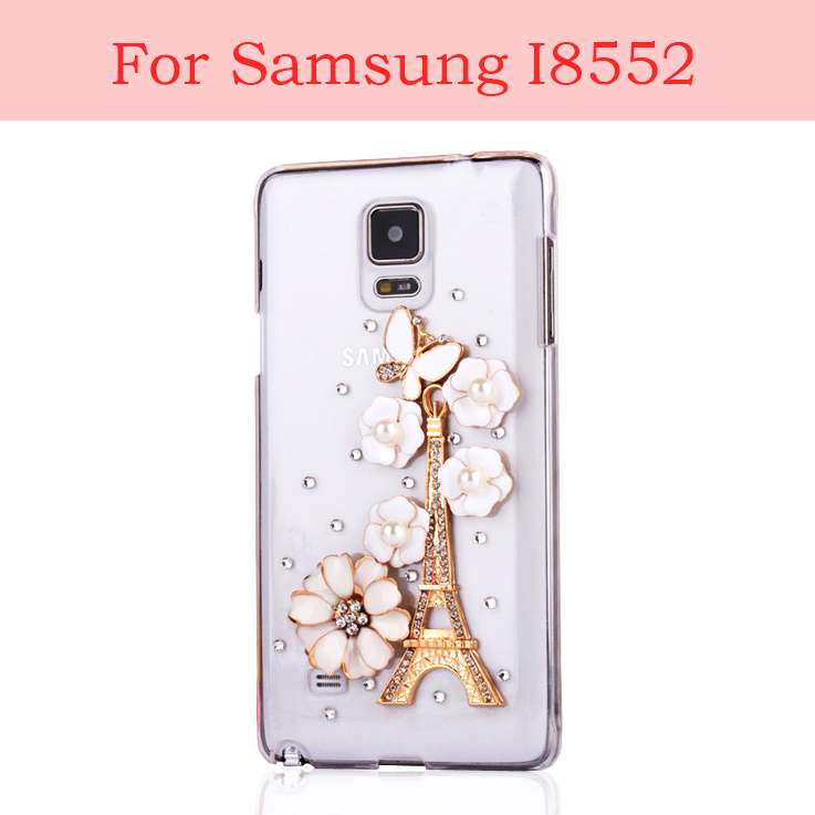 For samsung galaxy win i8552 bling mobile phone case(visit store for Samsung all model can be customized)(China (Mainland))