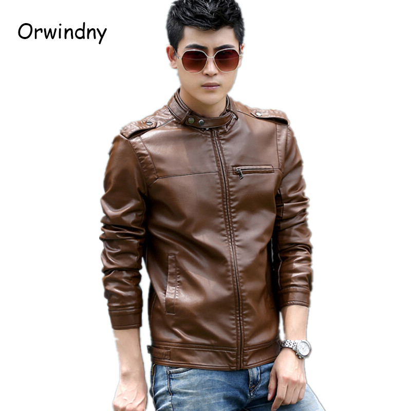 Compare Prices on Leather Brown Jackets- Online Shopping/Buy Low ...