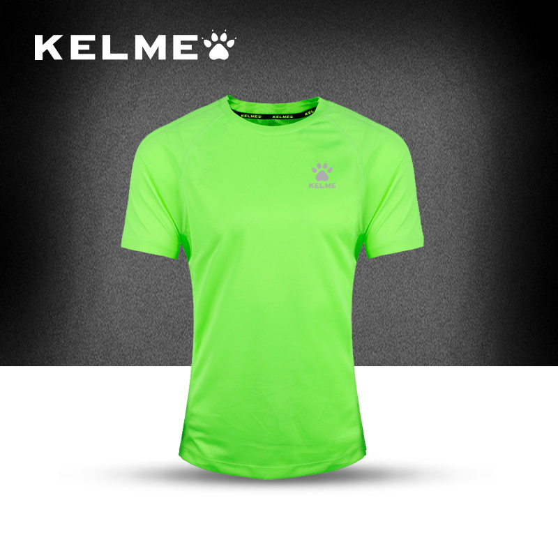 2016 Kelme Soccer Jersey Short Sleeved Quick Dry Breathable Running T-shirts men fitness Jersey Football jersey Free shipping(China (Mainland))