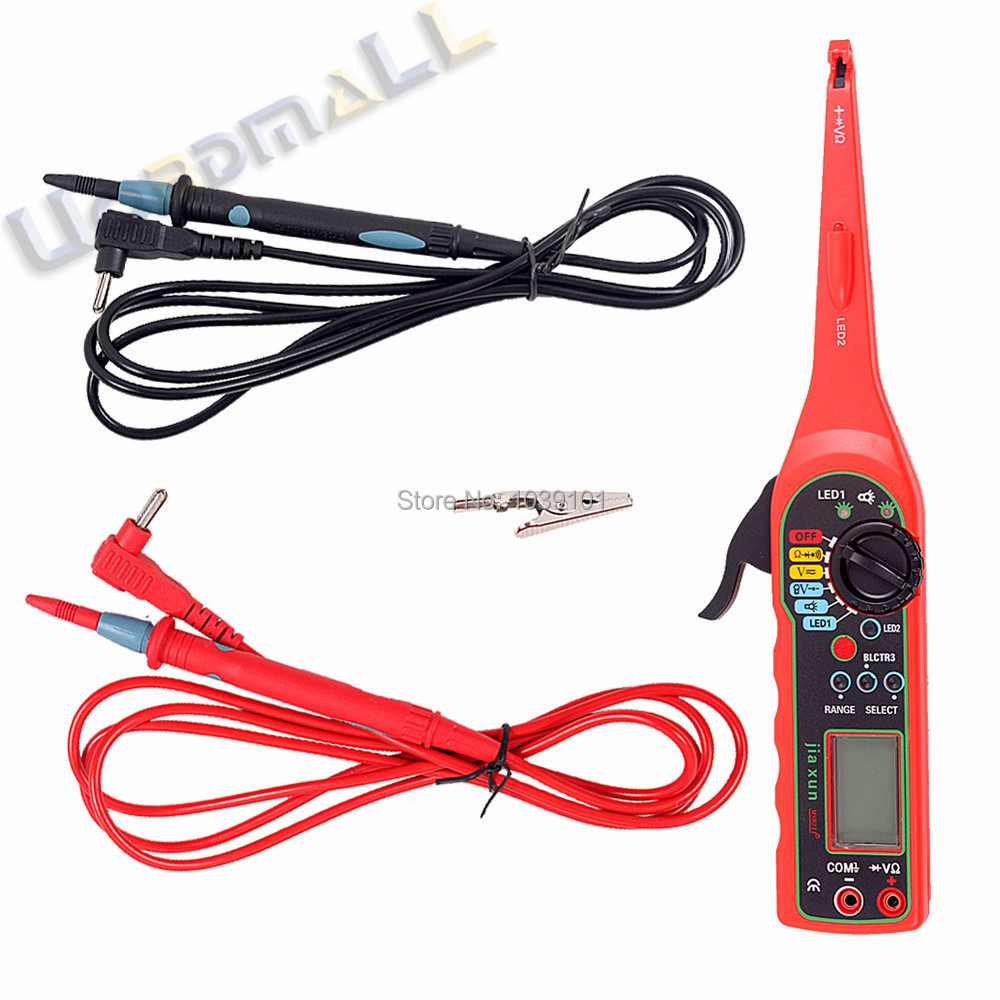 Wholesale Car Auto Power Electric Circuit Tester Multimeter Lamp Repair Of Electrical Wiring In The 3 4 5 Description Multi Function