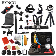 Buy BYNCG Gopro Accessories mount go pro accessories set gopro hero 5 hero 4 3 kit Xiaomi yi Camera sjcam sj4000 accessories for $28.53 in AliExpress store