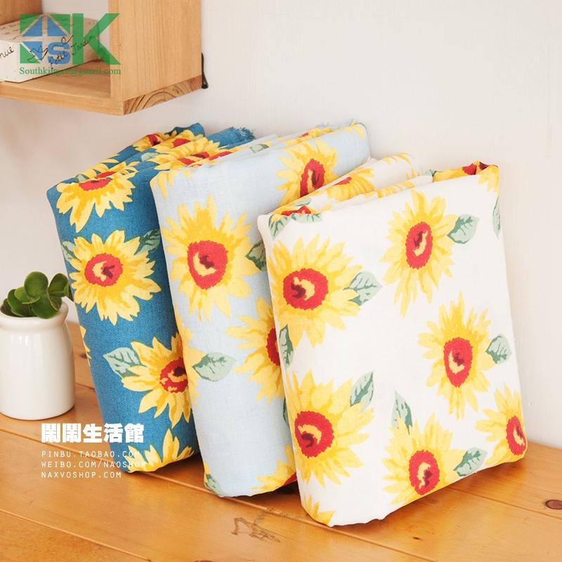 2016 fashion custom DIY Cotton Fabric, Fabric, Fluid gunny material curtain table cloth clothes cushion 3(China (Mainland))
