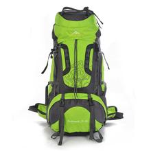80L Large Waterproof Travel Bags New 2016 Rucksack Men Nylon Outdoor Camping Hiking Backpacks Sport Women Climbing Luggage Bike (China (Mainland))