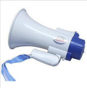Recordable handheld megaphone loudspeaker loud speaker handset sales selling(China (Mainland))