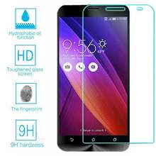 Tempered Glass Screen Protector Cover Film Foil Saver for Asus Zenfone 2 ZE551ML