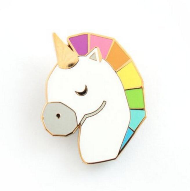 Free shipping Cute Horse Head Unicorn Alloy Brooch Pins,Fashion Jewelry Wholesale Nice Gift(China (Mainland))