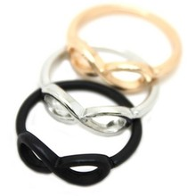 Min.order is $10(mix order) Free Shipping Fashion Retro Punk Black/Gold/Silver Glasses Wholesale Cheap Ring R66 R67 R68