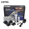 kemei KM 9801 Hair Clipper Aluminum Alloy Rechargeable Electric Hair Trimmer Hair Removal Hair Cutting Machine