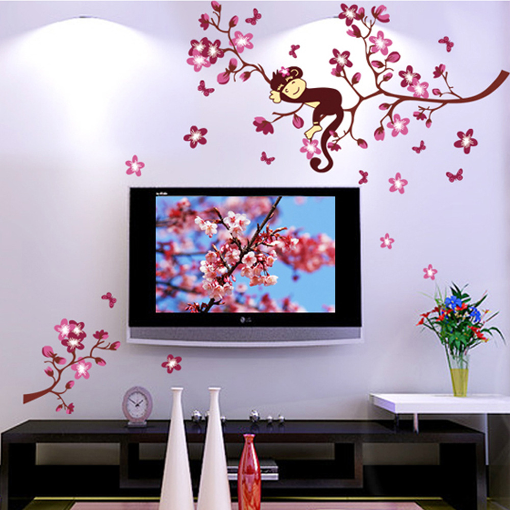Popular adult animal cartoons buy cheap adult animal for Interieur stickers