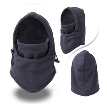 Thermal Fleece Balaclava Hat Ski Bike Wind Winter Stopper Face Mask For Skullies & Beanies Outdoor Sports
