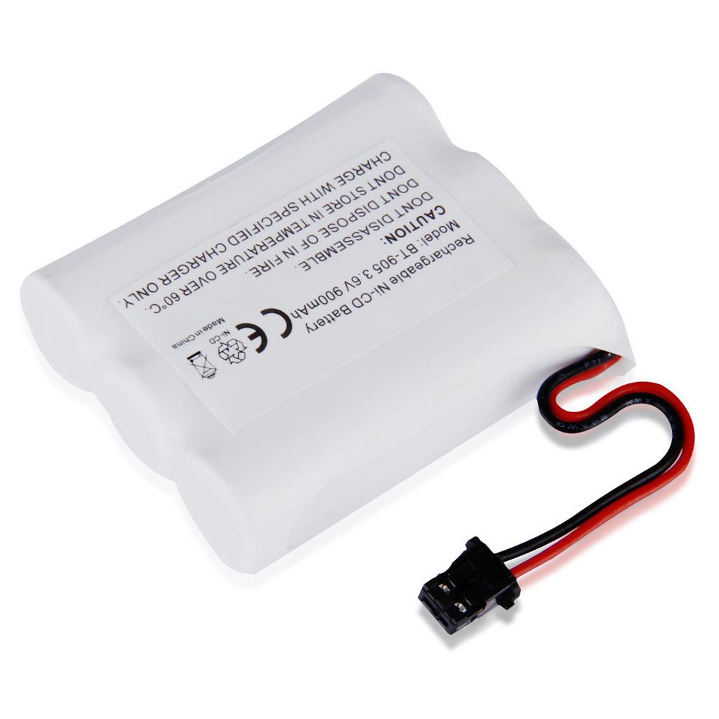 EDT-3X 3.6V 900mAh Ni-MH Phone Battery for Uniden BT-905 White