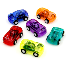 12Pcs Pull Back Racer Mini Car Kids Birthday Party Toys Favor Supplies for Boys Giveaways Pinata Fillers Treat Goody Bag(China (Mainland))
