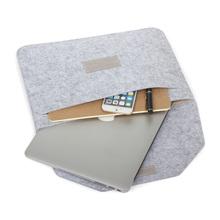 Premium Soft felt Sleeve Bag Case Notebook Cover for 11″ 13″ 15″ Macbook Air Pro Retina Ultrabook Laptop Tablet PC Anti-scratch