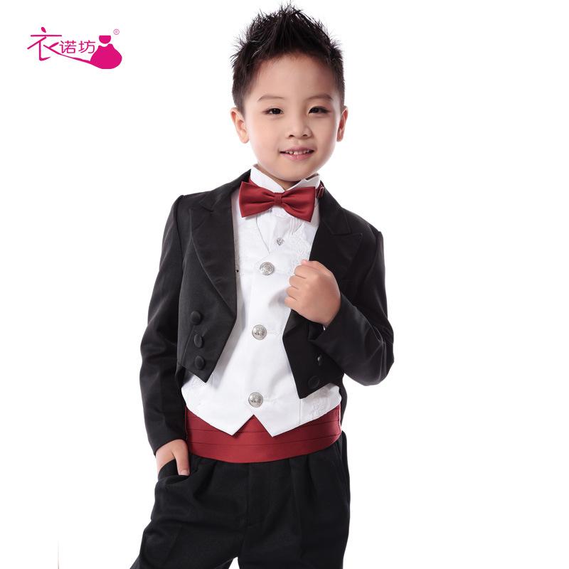 Formal Suit Black Toddler Boy Blazer Suits Casual Blazers