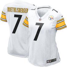 2016 Women Pittsburgh Steelers, #84 Antonio Brown #7 Ben Roethlisberger black #26 LeVeon Bell, 100% stitched logo(China (Mainland))