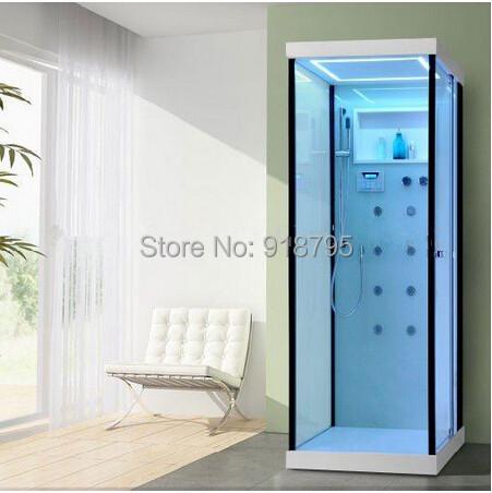 free shipping single person computer steam bath sauna room 8058<br>