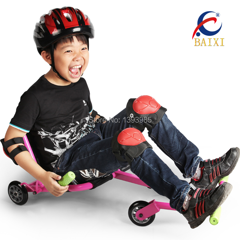 child shilly car kids tricycle triciclo infantil swing scooter kart cars foot roller scooters(China (Mainland))
