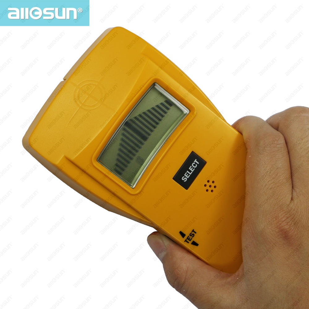 all-sun Electronic Stud Metal AC Wires Detector 3 in 1 Multiscanner Autopower Wood Stud Metal Sensor Not Detect Concrete TS79(China (Mainland))