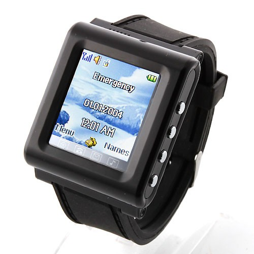 AK09 AK912 Cell Watch Phone With Single SIM Card Camera Bluetooth FM 1.6 Inch Screen Cellular Wrist Mobile Watch Mobile Phone(China (Mainland))
