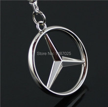 1 PCS BZ car emblems Keychain Keyrings Key Chain Ring Key Fob ,car keychain car key rings car key ring free shipping(China (Mainland))