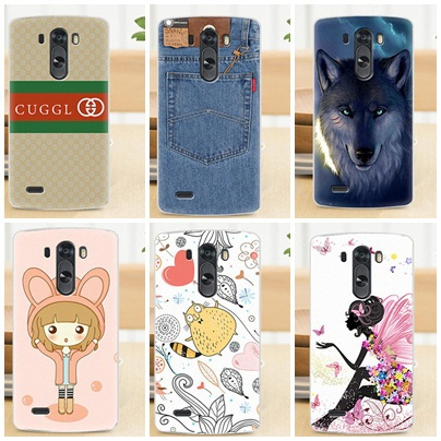 For LG G3 New Design 18 Style Drawing Cartoons for lg g3 High Quality Hard Protector G3 Cell Phone Cover Case Free Shipping(China (Mainland))