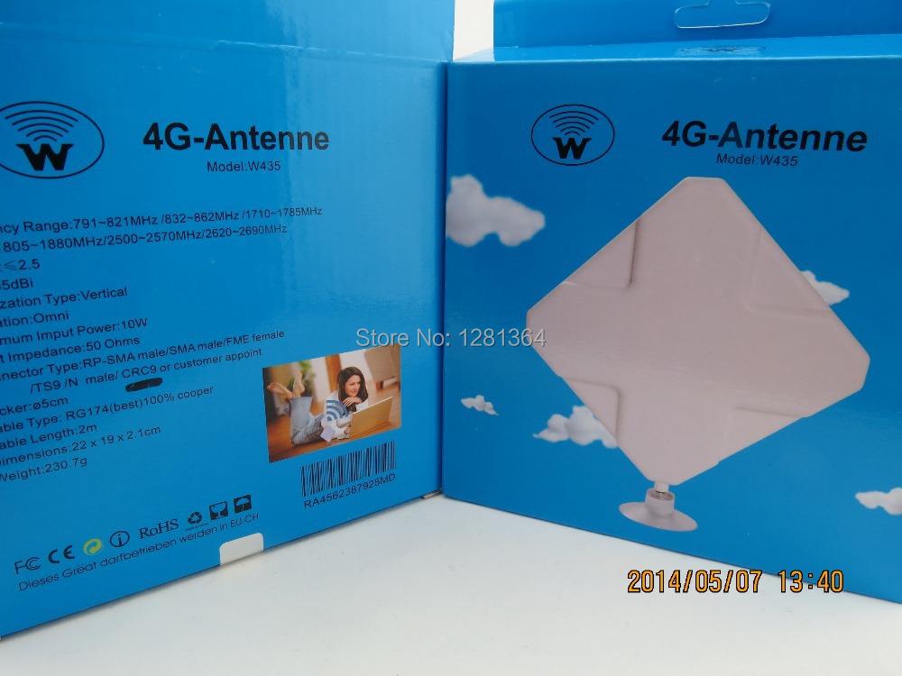 35dbi 4G LTE Antenna TS9 EXTERNAL ANTENNA HUAWEI E586es E5332 E5776 E392 E589 E398 E8278(China (Mainland))