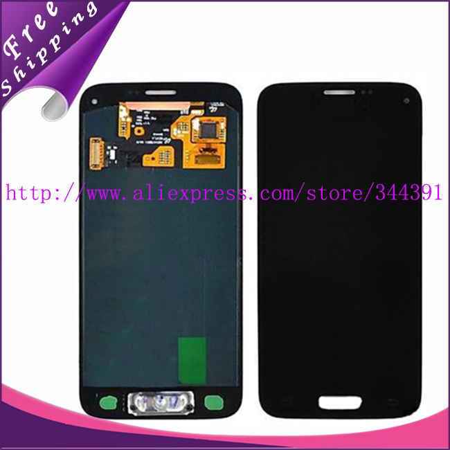 100% Tested Guarantee LCD Display Touch Digitizer For Samsung Galaxy S5 Mini g800f g800 with home button Free Shipping