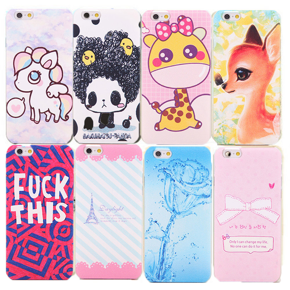 Min. order is $10(Mix order) Cover Protector For Apple iPhone 5C New Fashion Cute Design Painted Pattern Hard Back Case EC559(China (Mainland))