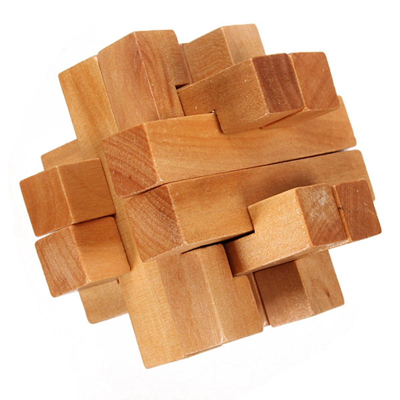 High Quality Vintage 3D YX835 Wooden Brain Teaser Puzzle Game Toys Special Collector Gift For Children Adult Educational Toy(China (Mainland))