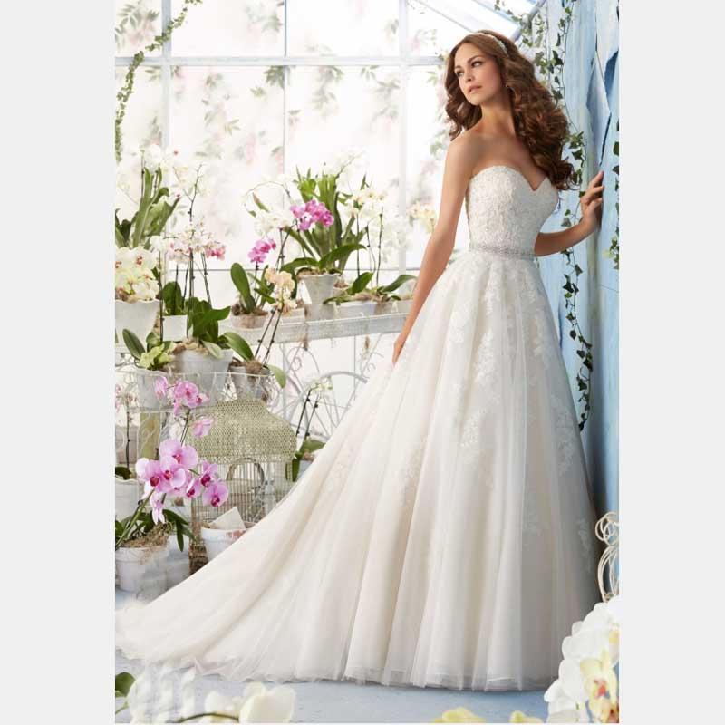 New Models Appliques Bridal Dresses Vestidos Organza Spaghetti Good Design Wedding Robe De Mariage Sweetheart in Discount(China (Mainland))