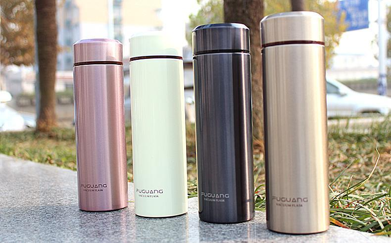 240ml FGL-3429 high grade gift double wall stainless steel vacuum mug thermos flask - Hefei green forest trade company store