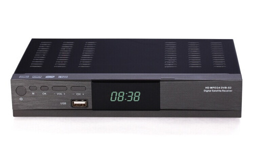 Hot Selling Digital TV Player HD DVB-S2 tv tuner STB Digital Satellite DVB S2/S MPEG-2/4 H.264 Free Shipping(China (Mainland))