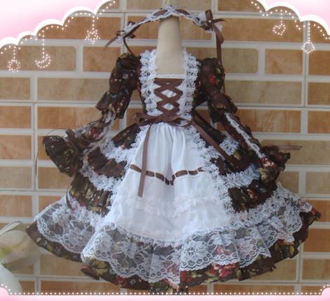 BJD doll clothes dress floral lace  1/3 tailor<br><br>Aliexpress