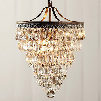 lustres de cristal vintage crystal bar table lamp pendant. Black Bedroom Furniture Sets. Home Design Ideas