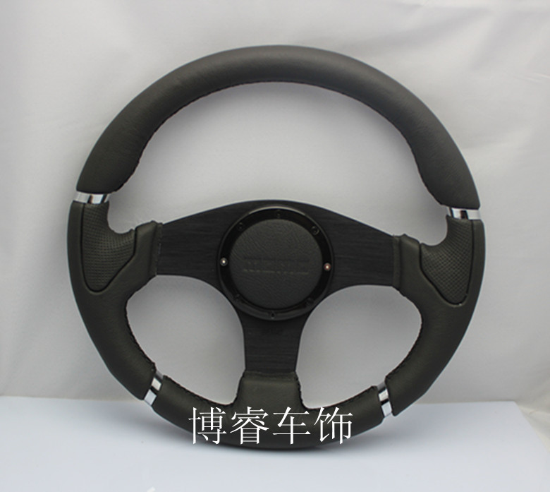 Фотография Free Shipping 2014car styling modifications latest MOMO steering wheel / leather steering wheel / racing wheel