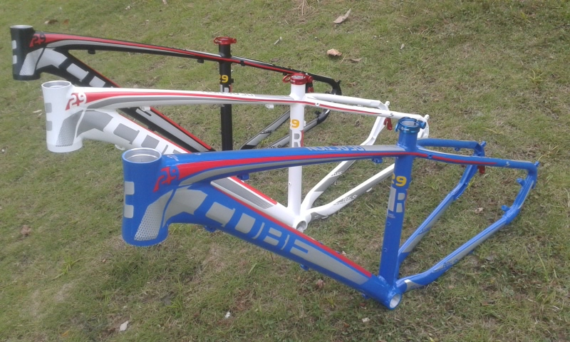 Free shipping mtb bike frame CUBE mountain bike aluminum alloy frame of design bicycle parts bicycle accessories MTB frame 29ER(China (Mainland))