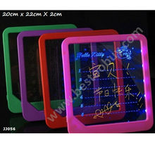 JJ057 pink color Message board LED DIY Parts ABS material creative gift Advertising Board Fluorescent Announcement notice(China (Mainland))