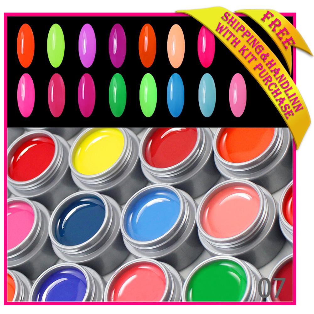 Free Shipping nails gel professional 12 pcs colors...