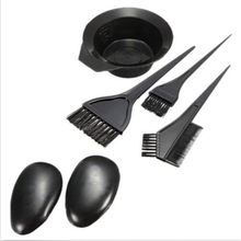 Useful 1Set/5pcs New Salon Hair Dye Tint with Hair Brushes Bowl Combo Tools(China (Mainland))