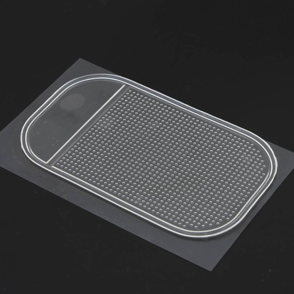 1PC Transparent Car Dashboard Sticky Pad Silica Gel Magic Sticky Pad Holder Anti Slip Mat For Mobile Phone Car Accessories 21164(China (Mainland))