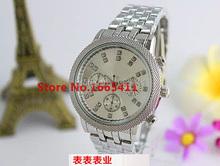 2015 venta caliente de lujo Reloj de la marca mujeres de korss relogio feminino hombres de los relojes del cuarzo del diamante del Reloj Casual Reloj de Mujer