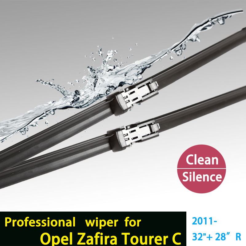 "wiper blade for Opel Zafira Tourer C (from 2011 onwards), 32""+28""R fit push button type wiper arms only HY-011(China (Mainland))"
