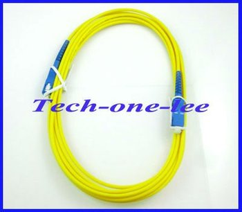 wholesale SC to SC fiber patch cord jumper cable, SM, simplex 3m free shipping