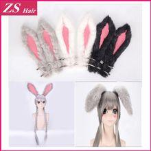 Zootopia Zootropolis rabbit Officer Judy Hopps Hairband Costume stainless steel Headband High Quality Judy Hopps Hairband(China (Mainland))